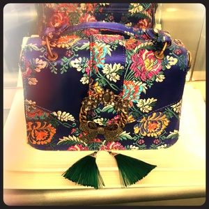 ALDO crystal bow detail bag